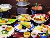 【料理長おすすめ会席】(1) 焼物や鉄板ステーキも付きます料理長おすすめ料理