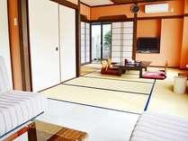 【内風呂付客室 桜の間】(1) バリアフリー