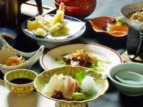 【GWずらしてお得】夕食はお部屋で楽しめる。旬の食材を使った「川隅会席」が10%OFF☆期間限定