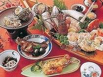 [写真]獲れたて新鮮な 海の幸料理 (お料理写真一例)