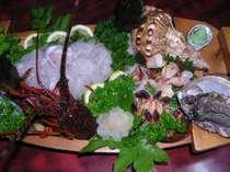 アワビ・伊勢海老・平目・貝など満喫◆海幸ぷらん(お料理一例)