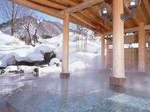 ■火あかりの湯■庭園大露天風呂(雪見)