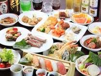 ■バイキング■天然本鮪寿司、上州牛ステーキ、揚げたて天婦羅などなど・
