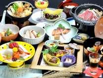 ■料理長オリジナル会席■その時期の旬な素材を使用