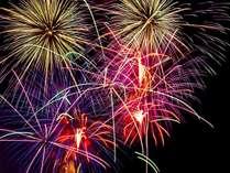 今年は松乃井で「夏の風物詩 花火」をお部屋から存分にお楽しみください!