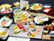 ■和会席膳■上州和牛を自社農園野菜や地場産野菜とご一緒に♪