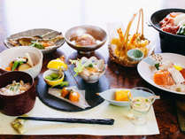 【夕食一例】料理旅館ならではの本格会席コースをご堪能下さい