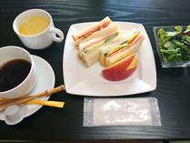 【洋朝食プラン】生駒山のさわやかな空気と緑の中で1日をスタート!