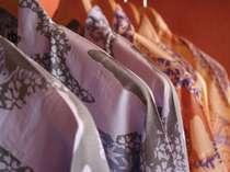 【浴衣コーナー】大・中・小・特小・特大サイズをご用意いたしております。,岐阜県,湯快リゾート 恵那峡温泉 恵那峡国際ホテル