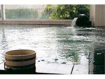 絶景とともにどうぞ。自家源泉天然温泉、露天風呂もございます。