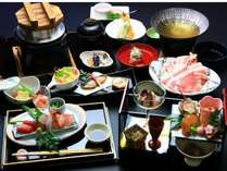 【リラックスステイ】個室でお食事☆&4つの貸切湯(無料) メインのお鍋は3種よりチョイス♪