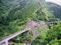 渓谷をのんびり走る絶景列車 南アルプスあぷとライン「全線復旧記念」 乗って楽しい見て楽しいがいっぱい!