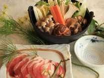 冬の料理チョイスプラン『おひとりずつ好きなメイン料理(鍋料理他)を選べます!』≪2食付き≫