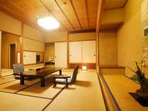 【秋の館】2~8Fのお部屋。窓からは四季折々の景色が楽しめます。