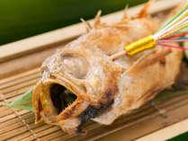 【特選懐石】1ランク上の和懐石は地元食材にこだわったお食事です。