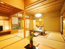 【極上の情緒を纏う。静謐な時間】『秋の館~3つの特別室~』至高のお部屋でゆったり過ごす。