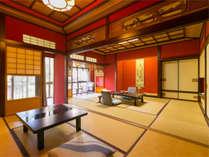【名園をの望む廊で繋がる穏やかな寛ぎ空間】『秋の館~標準室~』当館で1番スタンダードな客室。