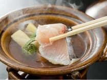 【お料理一例】旬の鰆と春香る野菜のお鍋