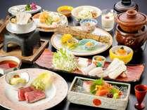 【秋限定】名残鱧・松茸・能登牛を一度に楽しむことができる期間限定の懐石料理『名月』