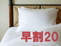 ■[WEB予約限定]【~ご宿泊「20日前」まで予約~】早割20(素泊り)