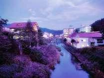 赤倉温泉(夕方)