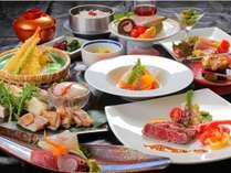 夕食【彩会席】一例