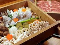 【数量限定】甲州ワインビーフと季節野菜の温泉せいろ蒸し 贅沢プラン