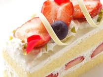 【パティシエ特製ケーキ付き】おすすめ!スイーツプラン(朝食付き)