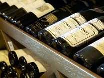!△ル・トリアノン こだわりの洋食にあったワインが勢ぞろい。