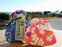 !2017年のさくらプランには春を感じる鎌倉からふる巾着袋をお付けしました♪