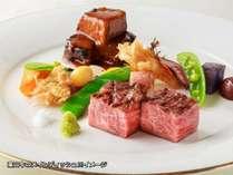 【消費税8%】ご当地牛「葉山牛」ディナーコース付き(夕朝食付き)洋食