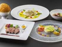 レストラン ル・トリアノンにてお召しあがりいただける「葉山牛ディナーコース」