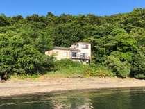 瀬戸内の穏やかな海沿いの一軒家をまるまる貸切