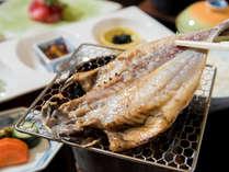 *朝食一例/熱海の朝といえば、干物!目の前で焼く醍醐味がございます。