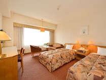 ◆スタンダードツインルーム【23平米・ベッド幅110センチ】