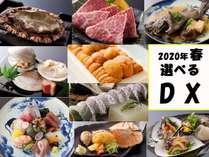 2020年春デラックス料理9品