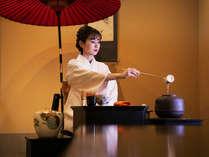 【お抹茶体験】 お抹茶の体験もございます。ご希望の場合はお声掛けください