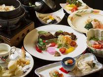 【十勝アルコ膳(ベーシック)】季節感あふれるお料理です。ゆり根料理など自慢の味をお楽しみください♪