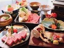 【とろけるお肉に奥津温泉で舌鼓♪】1泊2食~お肉好きならこれしかない!~夕食は和牛三昧会席☆