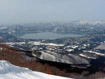 【たざわ湖スキー場】リフト1日券付き1泊2食スキーパック