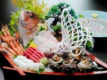 ~旬の味覚を食べ尽くす~鯛しゃぶ&鯛舟盛付懐石