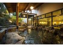 2017年6月にリニューアルした大浴場露天風呂。
