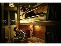 2名用個室 バンクベッド