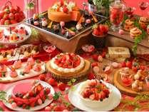 【3月・4月開催】ランチ&スイーツブッフェ いちごに恋しよう!いちご一会