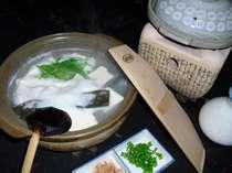 ほわほわ、とろとろのおぼろ豆腐