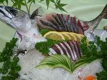 活魚 土佐の清水鯖活け作り
