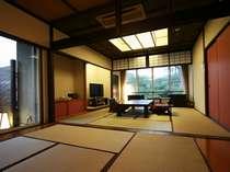 日本庭園眺望抜群の角部屋-1日1組様限定の贅沢特別室プラン◆高級伊豆会席をお部屋で…