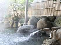 大浴場-源泉掛け流し露天風呂