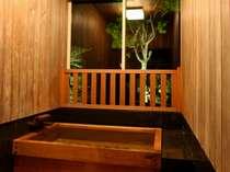 特別室-鶺鴒の間-眺望檜風呂