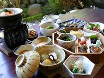 *朝からしっかり、体に優しい和食膳です(一例)